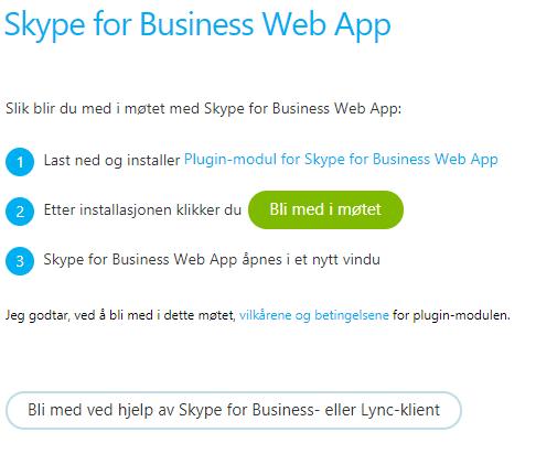 Skype web app illustrasjonsbild