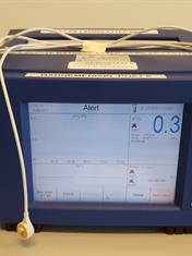 Illustrasjonsfoto av maskinen som brukes under transkutan registrering