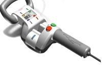 Foto av magnetapparat som strekker ryggen ved skoliose