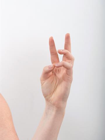 Tommel mot lillefinger