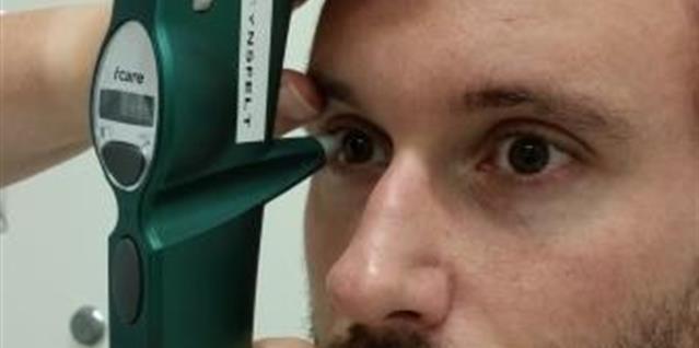 Måling av øyetrykk